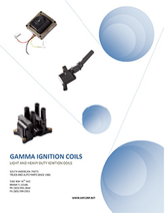 IGNITION COIL CATALOG