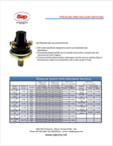 SAP - PRESSURE SWITCH FLYER