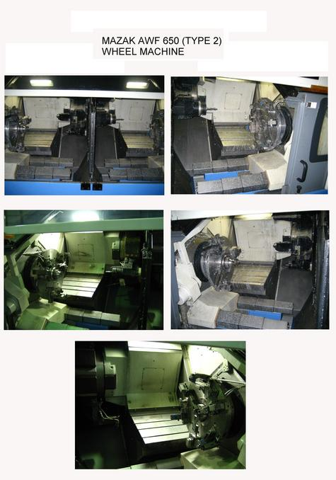 MAZAK SYSTEM INTEGRATION~AW FACTORY 650