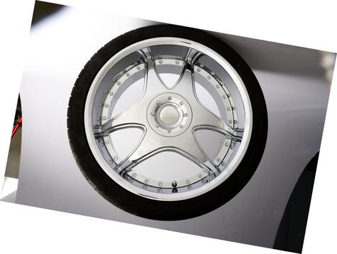 "20"" Chrome 2-Spoke Wheels like Lowenhart LSR"