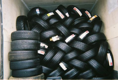 New & Barely Used Tires TOP Condition