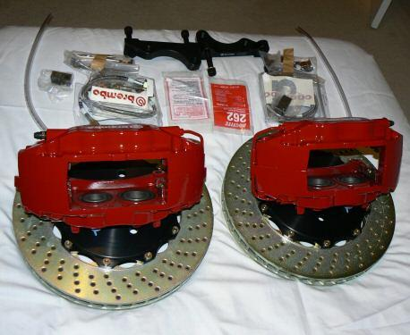 BREMBO BIG BRAKE KIT FOR NISSAN 350 Z/INFINITI G35