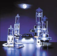 Hella Halogen Bulbs H1, H3, H4
