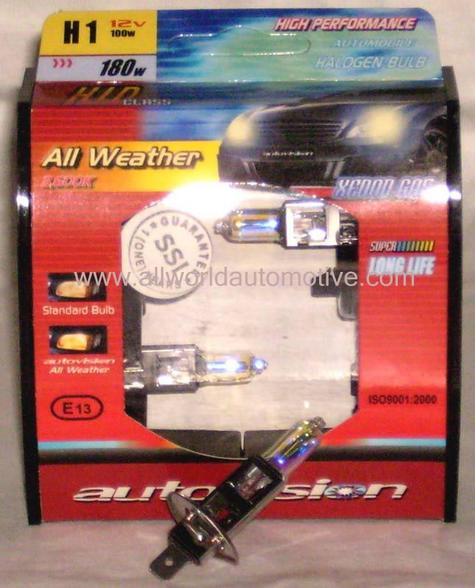 Autovision All Weather Bulbs H1 12V 100W