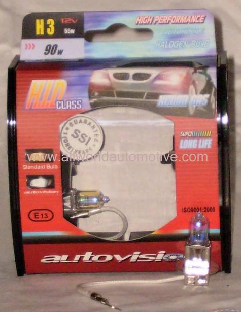 Autovision All Weather Bulbs H3 12V 55W