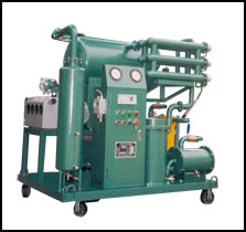 A transformer insulation oil filter/recycling/purifier system