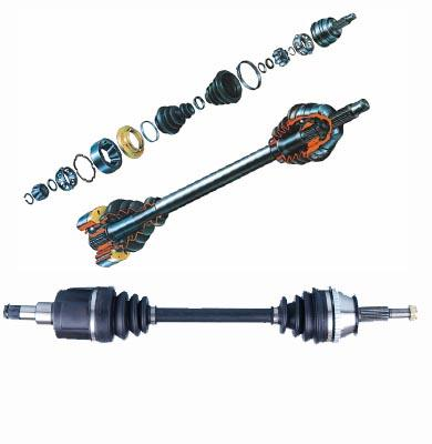 cv axle, c.v. axle, axle shaft, axle assembly
