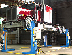 Mobile Lifts for Heavy Duty Vehicles