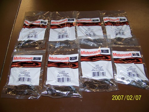 1000 NEW Motorcraft ZD-11 GlowPlugs