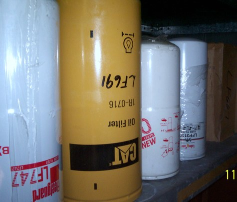 Filters : Oil, fuel,Diesel,hydraulic,Air