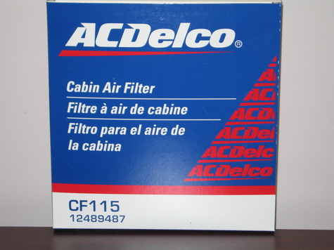 Genuine AC/Delco Filters