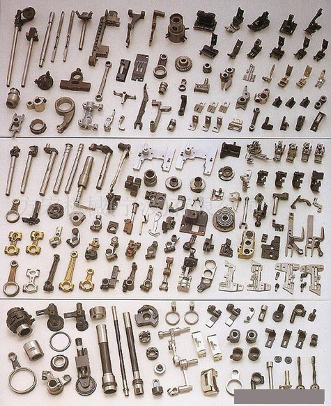Machine spare parts and components manufacturing