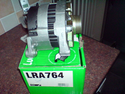 brand new lucas alternators