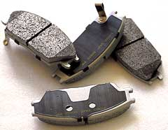 brake pad & shoe for all kinds of cars