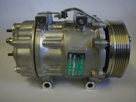 NEW SANDEN COMPRESSOR FITS FORD AND VOLVO