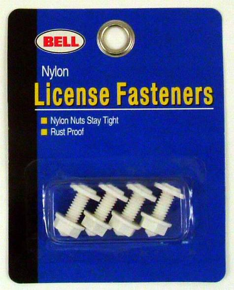 Bell Nylon License Plate Fasteners