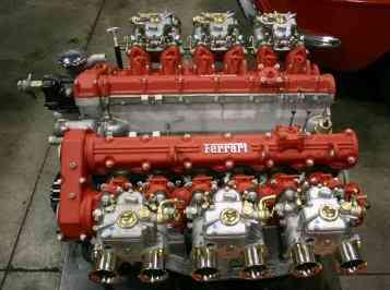Ferrari engine, 4.8L 4-cam V-12 from Ferrari 400 GT