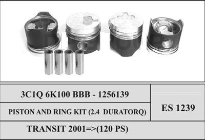 Ford Transit Piston and Ring Set