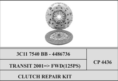 Ford Transit Clutch Repair Kit