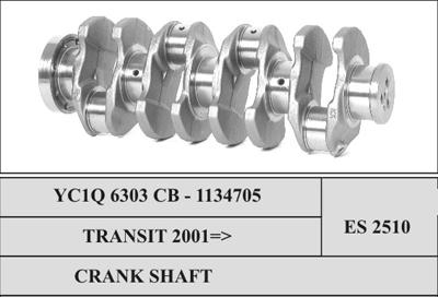 Ford Transit Crank Shaft Assy