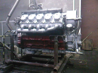 Tatra T815 engine Assembly