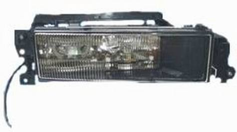Fog light for Man 2000 W/E-mark approval