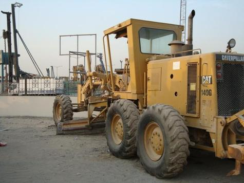 1994 Caterpillar 140g motor grader S/N: 5MD02386