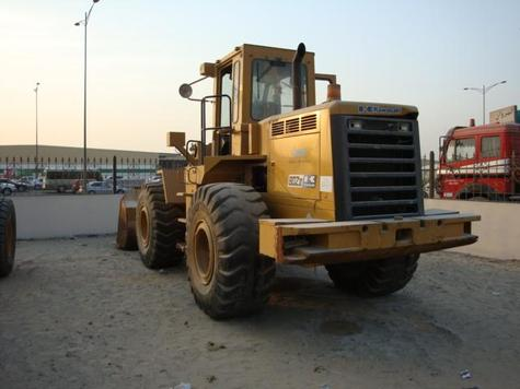 1993 Kawasaki 80ZIII wheel loader S/N: 80C1-0103