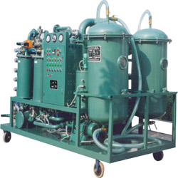 Vacuum Turbine Oil Regeneration Purifier