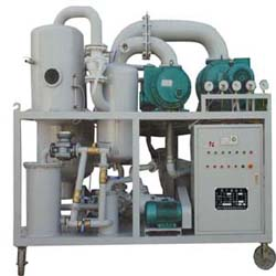 Double-Stage Vacuum Transformer Oil Purifier