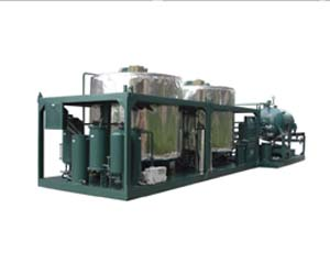 Industrial Oil Purification Machine Special For Black Waste