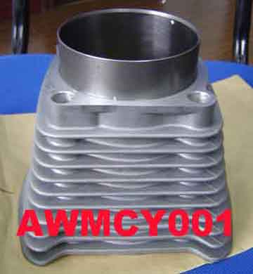 Motorcycle Cylinder (Silver Finishing)