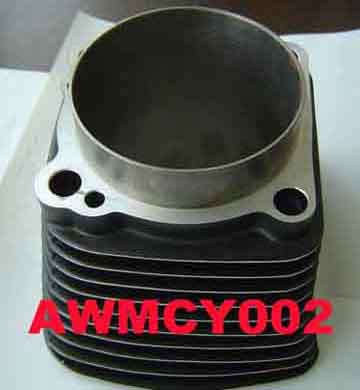Motorcycle Cylinder (Black Polish Finishing)
