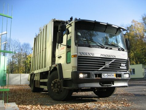 Used Garbage Collection Truck
