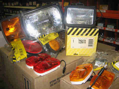 Huge Dominion Automotive Lamp Sell-Off