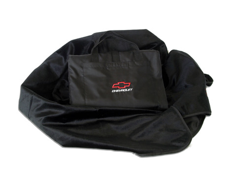 Black Chevrolet Motorsports Travel Blanket