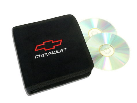 Black Chevrolet Motorsports CD / DVD Case