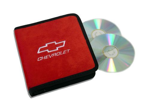 Red Chevrolet Motorsports CD / DVD Case
