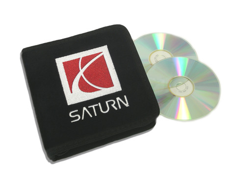 Black Saturn CD / DVD Case