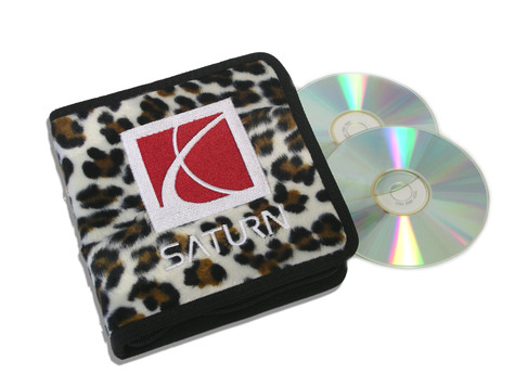 Leopard Saturn CD / DVD Case