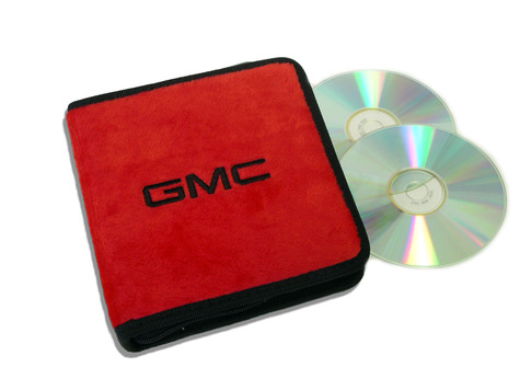 Red GMC CD / DVD Case