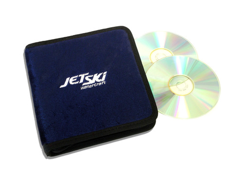 Navy Blue JetSki Watercraft CD / DVD Case