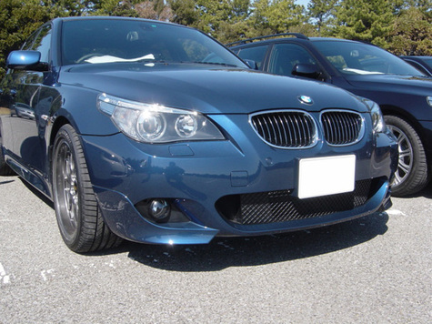 E60 M5 STYLE FRONT BUMPER for regular E60 series 2004~2007