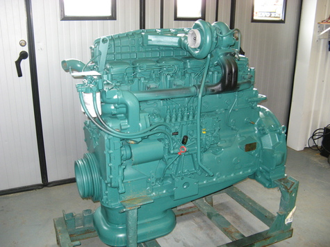 Volvo rebuilt engines with warranty