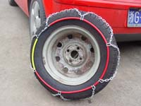 snow chain and tire chain