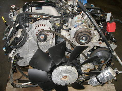 GMC DURAMAX ENGINE 2004-2005 LLY