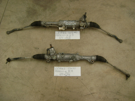 Complete almost new Pwer Steering Rack