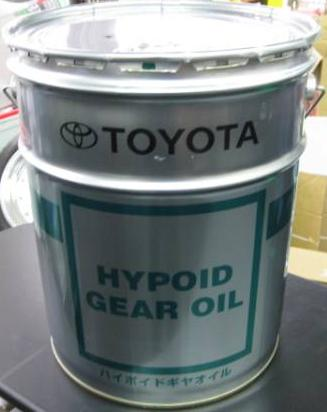 Toyota Genuine Hypoid Gear Oil GL-5 85W-90, 20L