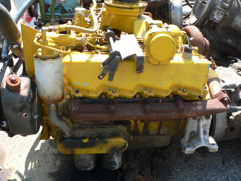 3208 Caterpillar Turbo Engine Complete