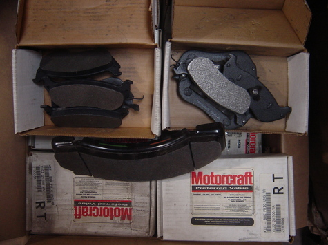 motor craft brake pads